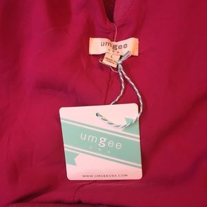 Umgee Dresses - NEW Hot Pink Sleeveless Umgee Dress with Cutouts